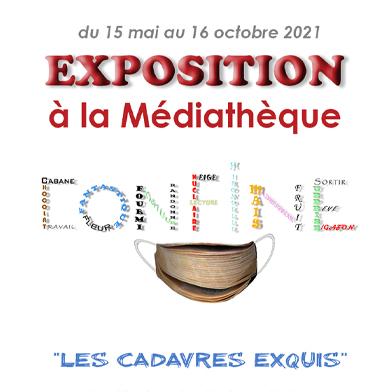 "Exposition ""Les cadavres exquis"""