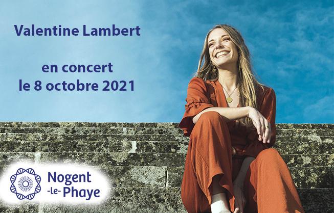 Valentine Lambert en concert